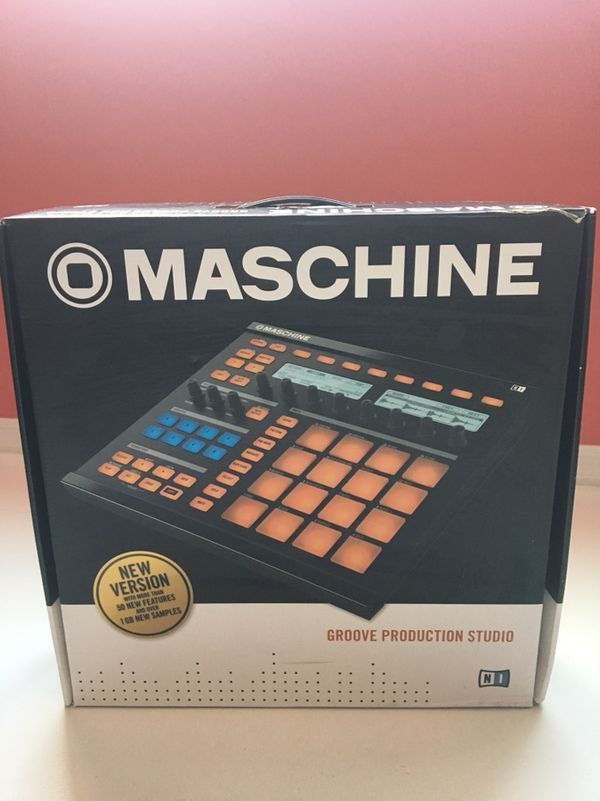 Native Instruments Maschine Groove Production Studio with Transfer license  for Sale in Surprise, AZ - OfferUp