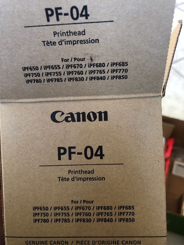 canon print head PF-04 for Sale in Altadena, CA - OfferUp