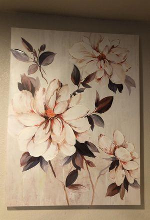 Flowers painting, wall artwork for Sale in Las Vegas, NV