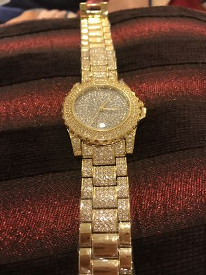 Unisex Gold plated Watch for Sale in Boston, MA