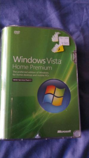 Windows Vista home premium with service pack 1 for Sale in Baltimore, MD