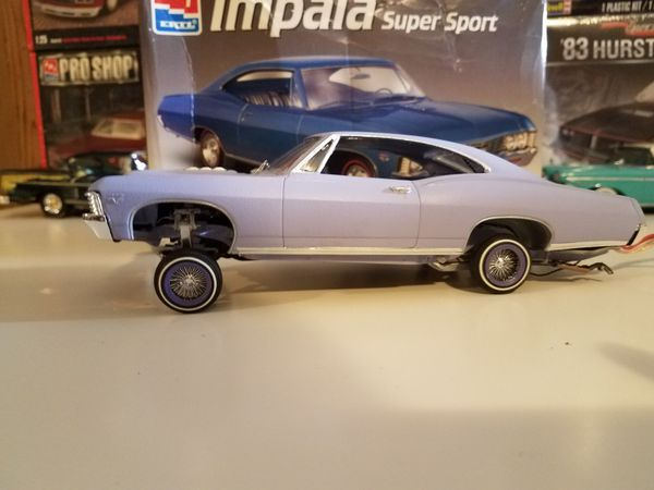1967 Chevy Impala Lowrider Model Car Kit On D S With Hydraulics