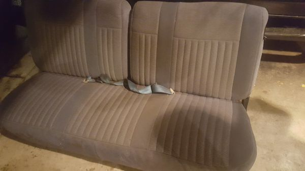 Sensational 1990 Ford Bronco Bench Seat Just Reduced Price For Sale In Saint Helens Or Offerup Inzonedesignstudio Interior Chair Design Inzonedesignstudiocom