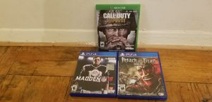 PS 4 games and Xbox game for Sale in Reston, VA