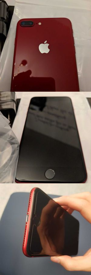 Neverlocked iPhone 8 Plus (Product) Red, 256GB for Sale in Salt Lake City, UT