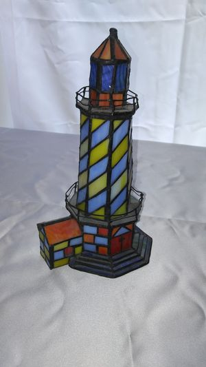 Stained Glass Light House for Sale in Austin, TX