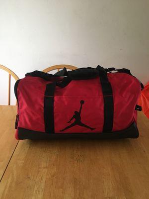 Brand new Nike air Jordan duffel bag bred for Sale in La Mesa, CA
