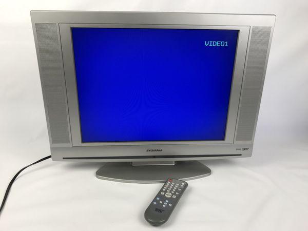 Sylvania LCD Color TV 20 Model LC200SL8 With Remote