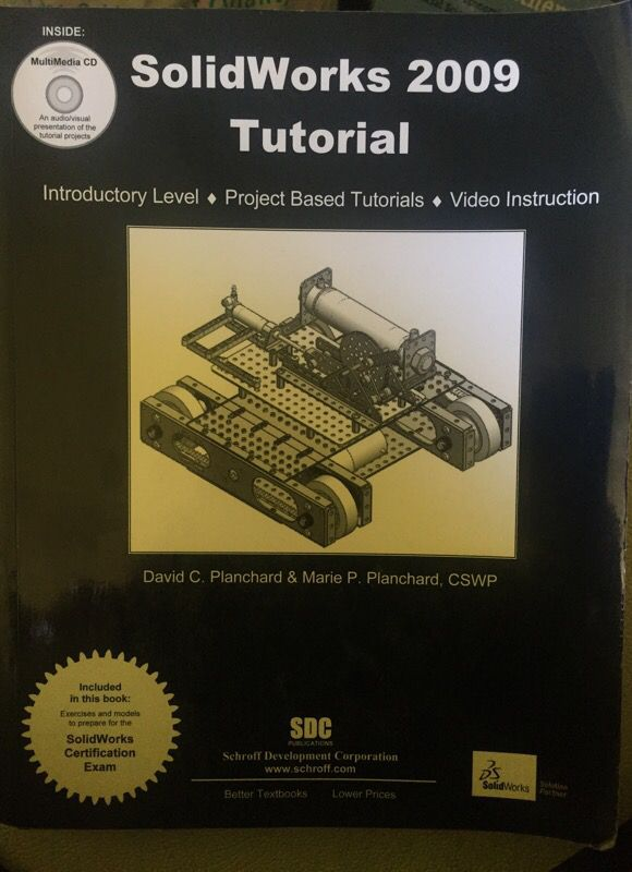 Solidworks Tutorial Book For Sale In Los Angeles Ca Offerup
