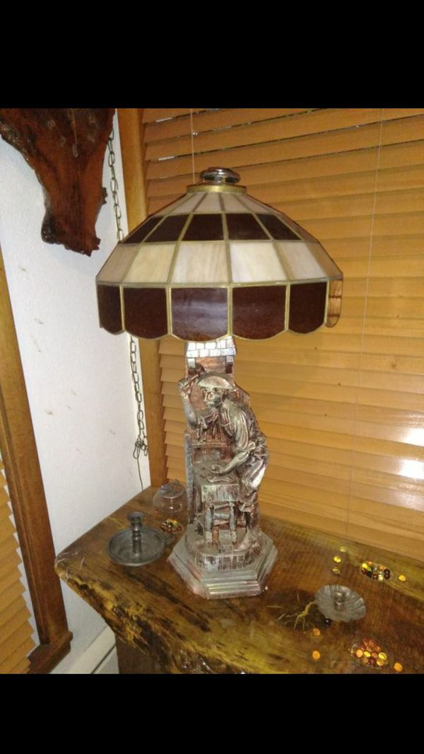 applebee s lamp shade stained glass authentic for sale in olympia
