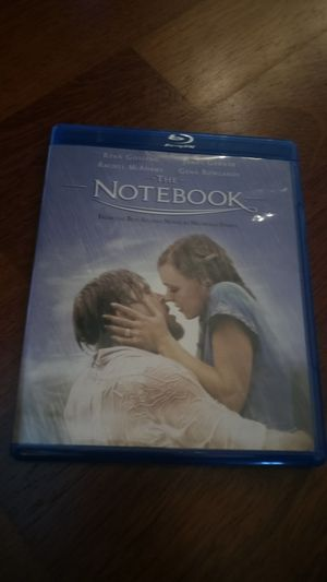 The Notebook Blu-Ray for Sale in Seattle, WA