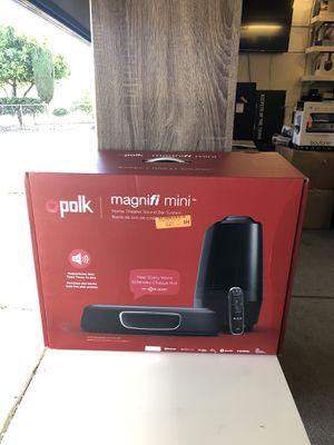 Polk Audio MagniFi Mini Sound Bar System for Sale in San Jose, CA - OfferUp