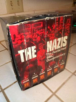 The NAZIS vhs documentary complete series for Sale in Lancaster, CA