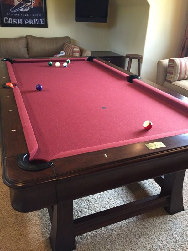 Thomas Aaron Pool Table For Sale In Sammamish WA OfferUp - Thomas aaron pool table
