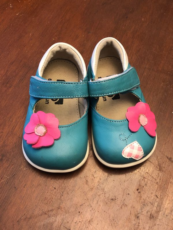See Kai Run toddler leather shoes size 4 for Sale in ...