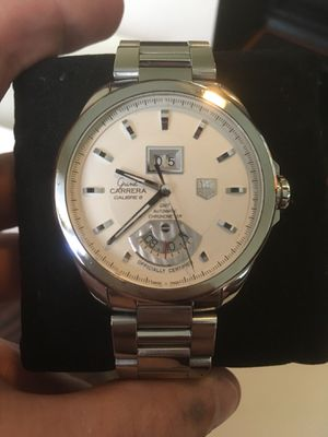 Tag Heuer Grand Carrera GMT Chronometer Watch for Sale in Fairfax, VA