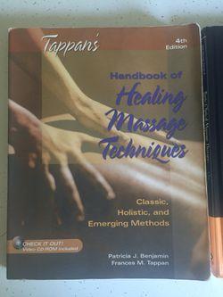 Massage Therapy Books Thumbnail