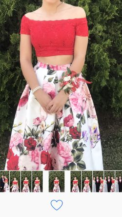 2 Piece/ Long/ Off the Shoulders/ Formal Dress Thumbnail