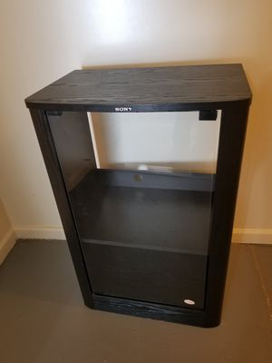 Media Console with glass door for Sale in Fairfax, VA
