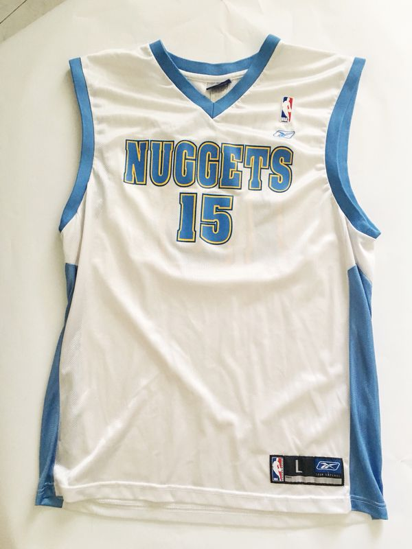 new product 7b335 b7682 Carmelo Anthony Nuggets Reebok Jersey Size L for Sale in Garden Grove, CA -  OfferUp