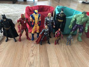 Marvel super heroes action figures lot for Sale in Orlando, FL