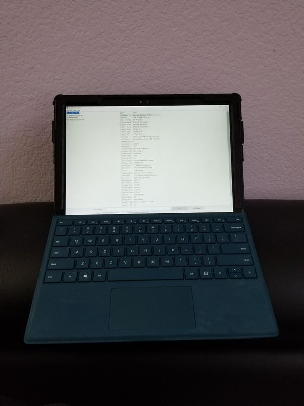 Microsoft Surface Pro 4 i5 128GB/4GB with teal type cover for Sale in  Fairfield, CA - OfferUp