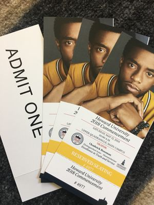 The Black Panther, Howard University 2018 Commencement Tickets for Sale in Hyattsville, MD