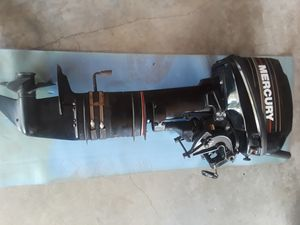 Mercury 15 HP 1996 with Mercury Control and gas tank for Sale in Portland, OR