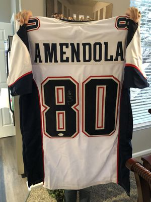 Danny Amendola Autographed white custom jersey XL JSA certified $225 for Sale in Gaithersburg, MD