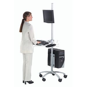 Mobile Ergonomic Computer Stand for Sale in Boca Raton, FL