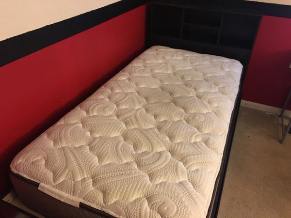 Twin Captains Bed With Mattress For Sale In Winston Salem Nc Offerup