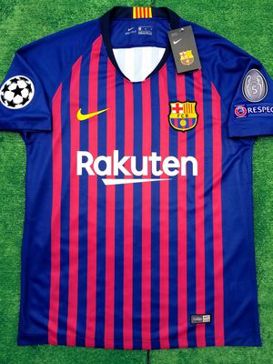 fa6ddc908 2018 19 Barcelona soccer jersey Messi for Sale in Raleigh