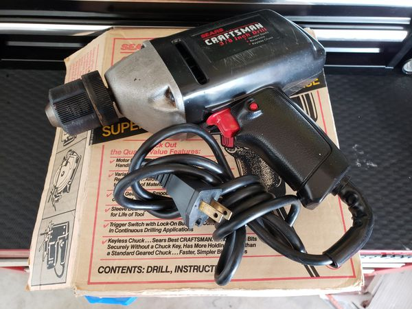 Powerful Craftsman Corded Drill! for Sale in Lake Elsinore, CA - OfferUp
