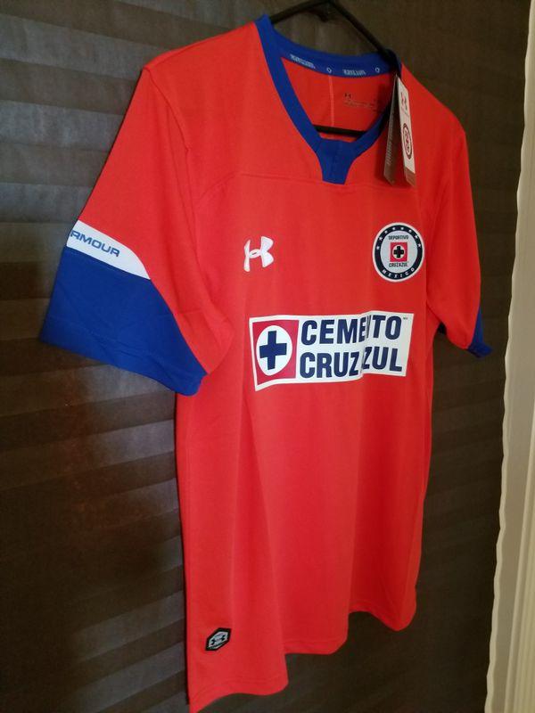 Mens Authentic Under Armour Cruz Azul Jersey for Sale in McAllen 26c8c4c10
