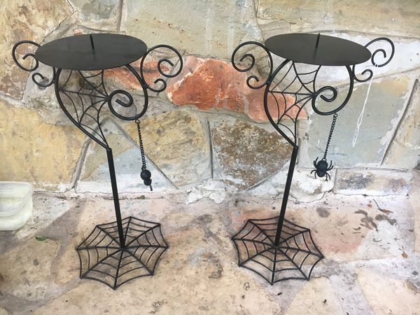 Spider Candle Stands Home Goods Household In San Antonio Tx