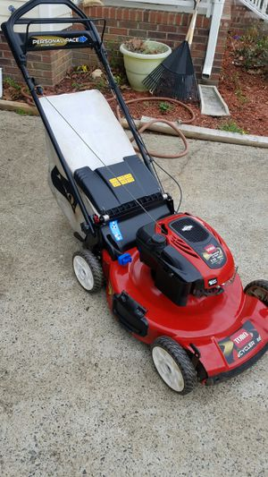 Photo Toro 22cut recycler rwd personal pace self propelled lawnmower