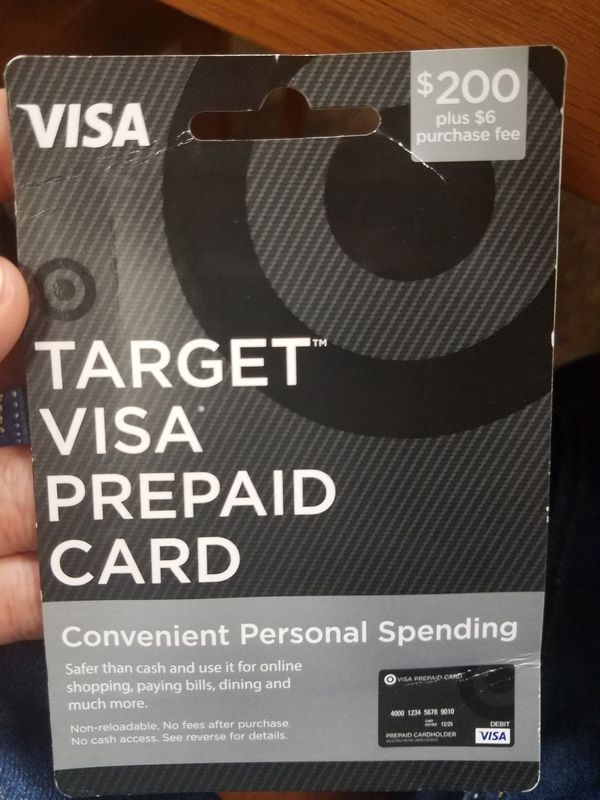 Target Visa prepaid card for Sale in Columbia, SC - OfferUp
