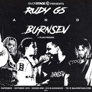 MajorStage Presents: RudyGs & Burnsev Records Plus Friends for Sale in New York, NY