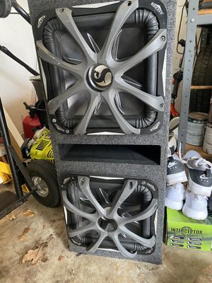Photo Kicker L7 12 with box and grill