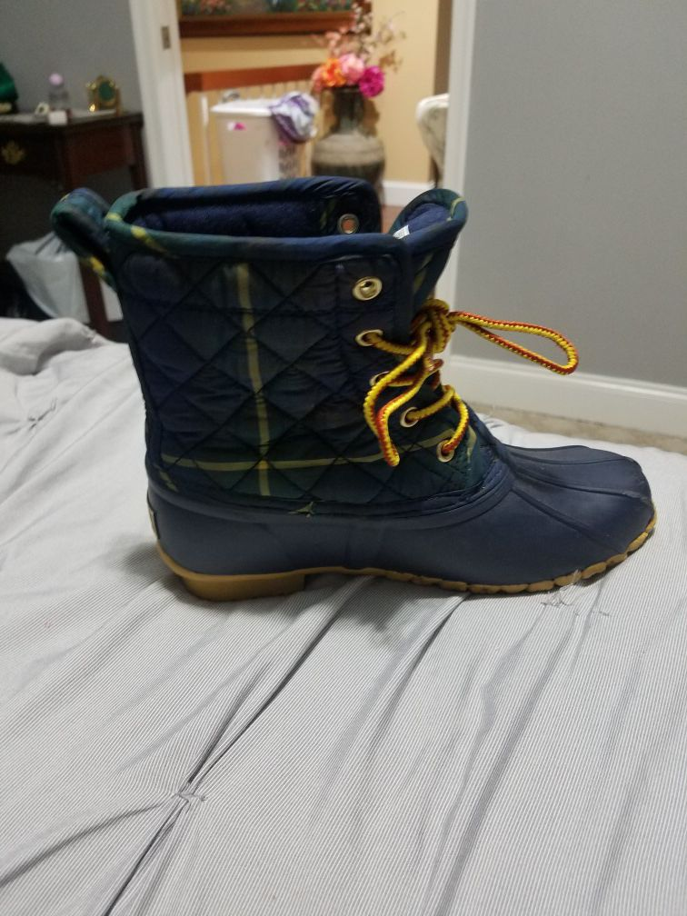 Polo snow boots (kids size 4)