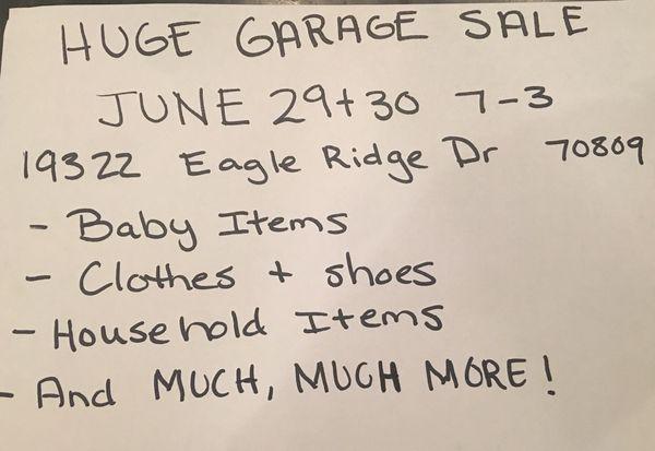 Garage Sales Baton Rouge on boots sale, cocktail dresses on sale, m1 carbine sale, dress sale, gun sale, military firearms sale,