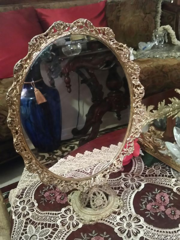 Beautiful Rare Vintage Tabletop Tilting Vanity Mirror For In El Paso Tx Offerup