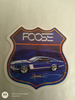 Photo NEW SMALL HIGH GLOSS CHIP FOOSE SPEED SHOP TOOLBOX STICKER