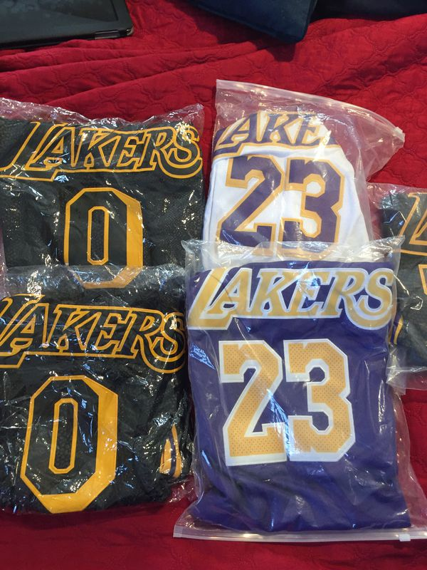 finest selection 5e6c6 f4047 kyle kuzma lakers black mamba kobe jersey for Sale in Alhambra, CA - OfferUp