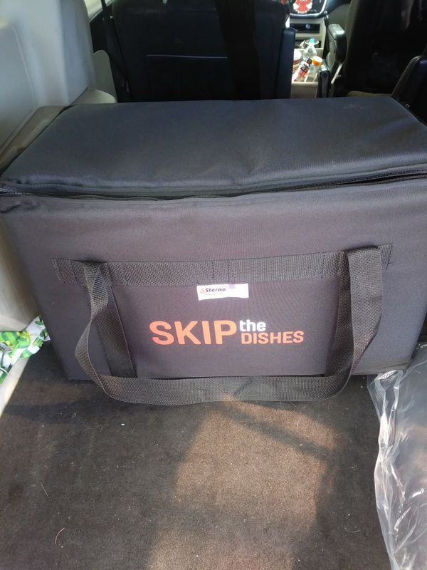 73294d9191de Skip the Dishes Courier Bag- CATERING BAG for Sale in Cleveland