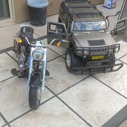 Model Harley and H3 Hummer Thumbnail
