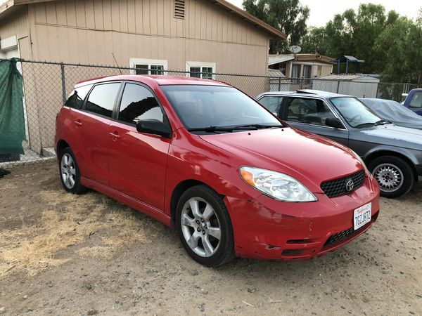 2003 toyota matrix xrs 6 speed for sale in perris ca offerup. Black Bedroom Furniture Sets. Home Design Ideas