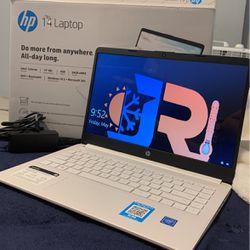 HP 14 Latop,  White Thumbnail