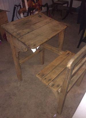 Antique Children's school desk for Sale in Lynnwood, WA