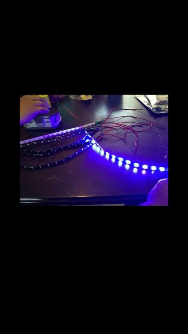 12 inch blue led light strips for sale in devore hghts ca offerup aloadofball Choice Image
